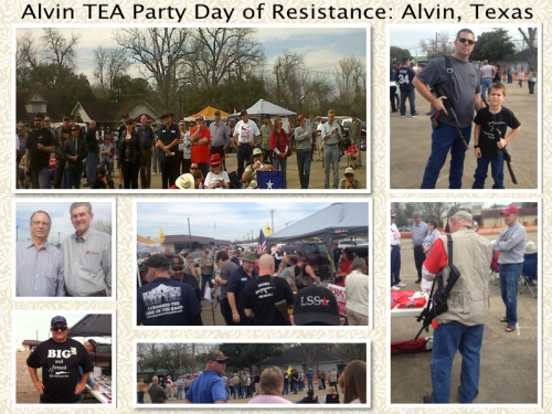 Day of Resistance-Alvin, Texas