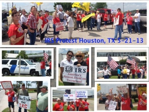 IRS Protest Houston Gulf FYW 5-21-13