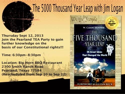 5000 year leap