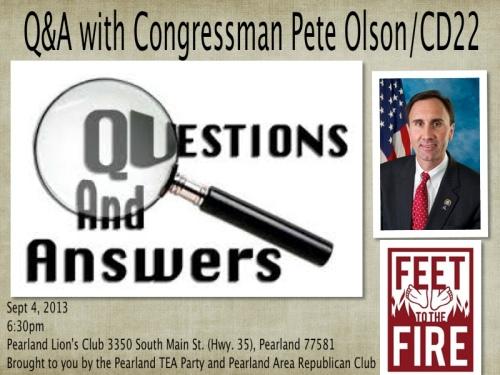 Q&A Olson