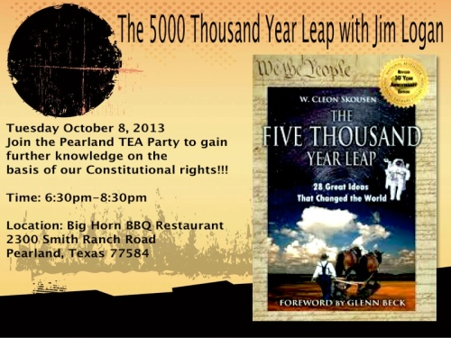 5000 year Leap Oct 8, 2013