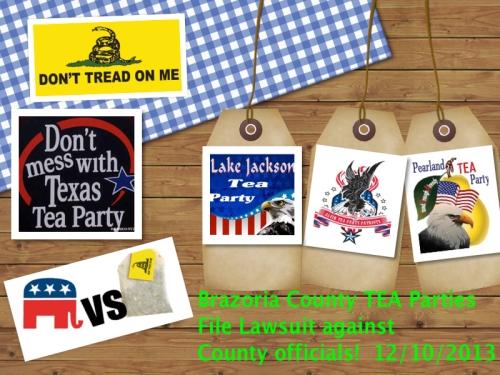 Brazoria County TEA Party Lawsuit