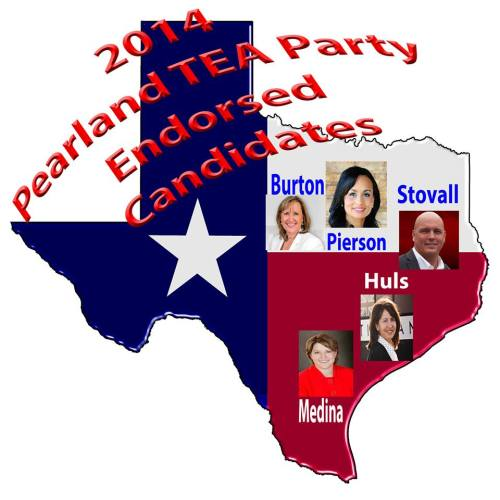 Endorsed Candidates 2014 PearlandTEA Party