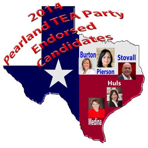 Endorsed Candidates 2014 PearlandTEA Party