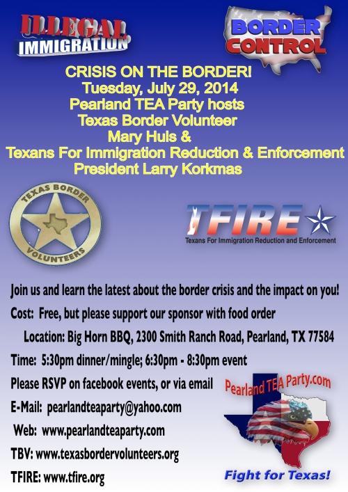 Crisis on Border 7-29-2014